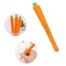 Custom Carrot Shape Plastic Ball Point Pen, 6