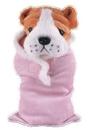 Custom Soft Plush Bulldog in Baby Sleeping bag 12