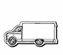 Custom Van Notekeeper Magnet - 35 Mil Process Color (1 3/8