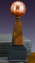 Custom Volleyball Victory Award. 10-1/2