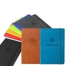 Custom Classic Italian Leather Journal Book (Turquoise), 5.5
