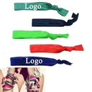 Custom Elastic Knotted Hair Bands Bracelet Hair Bands, 0.6