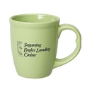 Custom 15 Oz. Lime Green Mighty Mug, 4 1/2