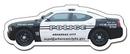 Custom Stock 20 Mil Police Car Magnet, 4.5