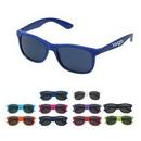 Custom Matte Finish Fashion Sunglasses, 5 1/2