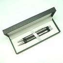 Custom Aluminum Click Ballpoint Pen And Pencil Set (Engraved)