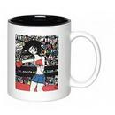 Custom 11 Oz. Full Color Sublimated Ceramic 2 Tone Mug, 3.75