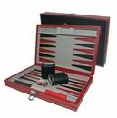 Custom Leatherette Backgammon Set- Small (Screened)