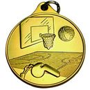 Custom Basketball IR Series Medal (1 1/2
