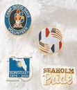 Custom Series 3850 Economical Brass CloisEpoxy Lapel Pin (Up to 3/4