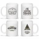 Coffee Mug with Handle, 11 oz. Ceramic Mug (White), Personalised Mug, Custom Mug, Advertising Mug, 3.75