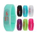 Custom Silicone LED Digital Wrist Watch, 8 3/4