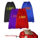 Custom Double Sided Velcro Closure Youth Superhero Cape, 35 1/2