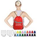 Polyester Custom Drawstring Bag (14
