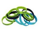 Custom Debossed Silicone Wristband, 8