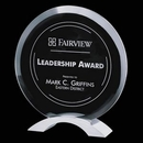 Custom Jade Essex Award w/ Brushed Aluminum Base (8 1/2
