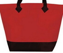 Custom Non-woven Shopping Bag W/ Velcro Closure (19-1/2
