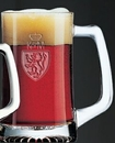 Custom 25 Oz. Clear Beer Mug with Large D Handle (Bulk)