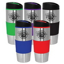 Custom Vivid 15 Oz. Stainless Travel Tumbler, 3.25
