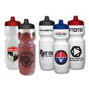 Custom 24 Oz. Premium LDPE Bike Bottle with View Stripe