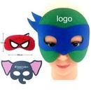 Custom Velcro Eye Mask, 7 1/2