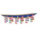 Custom International Flag Ceiling Decor, 12