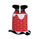 Custom Plush Santa Chimney Hat