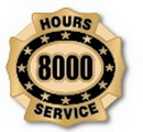 Custom 8000 Hours of Service Deluxe Clutch Pin