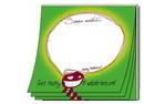 Custom Stik-On Adhesive Note Pad W/ 50 Sheets (4