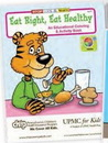 Custom Eat Right, Eat Healthy Coloring Book, 8