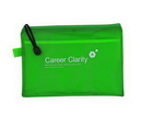 Custom PVC File Zipper Bag, 9.625