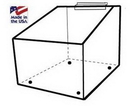 Custom Slatwall Acrylic Bulk Bin (5 1/2