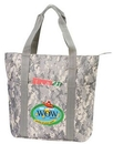 Custom Digital Camo Tote Bag w/ Zipper (20