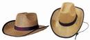 Custom Straw Cowboy Hat, 15 1/2