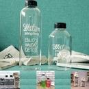 Custom Borosilicate Water Bottle, 5 23/32