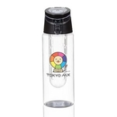 Custom The Guru Water Bottle w/Infuser - Black, 2.87