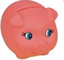 Custom Rubber Classic Piggy Bank