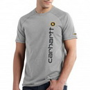 Blank Men's Carhartt Force Cotton Delmont Graphic Short-Sleeve T-Shirt
