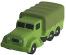 Custom Military Transport Truck Squeezies Stress Reliever, 4
