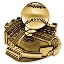 Custom 2 1/2'' Baseball Medal (G)