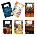 Custom Credit Card 4 Color Process (VERSAprint? Bottle Opener, 2.125