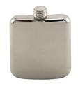 Custom Sleekline Pocket Flask, 6 oz. Polished Stainless Steel, 5