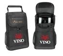 Custom 2 Bottle Deluxe Wine Bag, 8.5