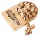 Custom Bamboo Nut Tray W/ Nutcracker, 11 1/4
