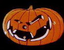 Custom Scary Jack-O-Lantern Flash Lapel Pins