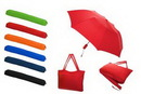 Custom All-In-One Tote Bag/Folding Umbrella