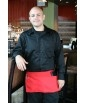 Custom Spun Poly Waist Apron with imprint, 22