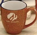 Custom 16 Oz. Orange Santa Fe Bistro Ceramic Mug