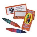 Custom Combination Color Crayon Set, 3 1/4