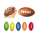 Custom PU Football Stress Reliever, 3 1/2
